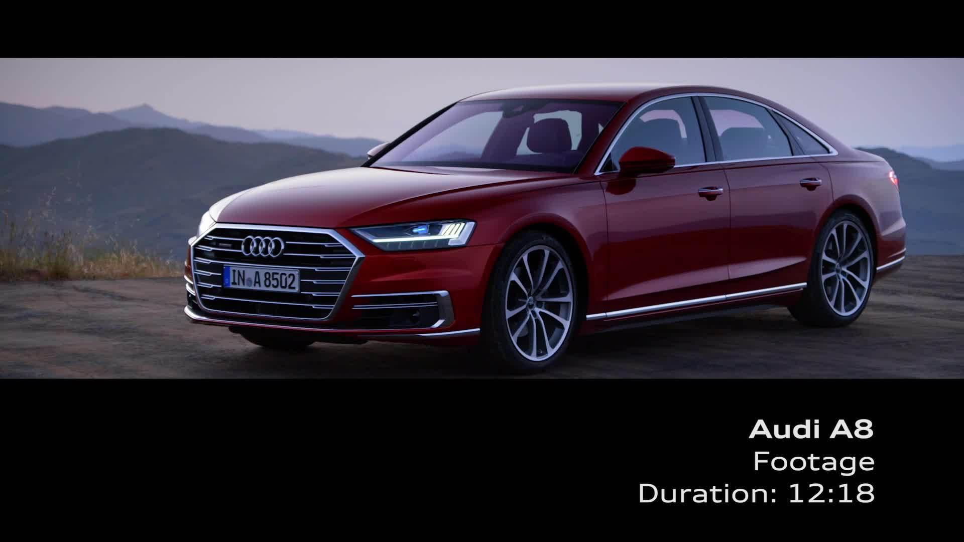 Audi A8 Footage