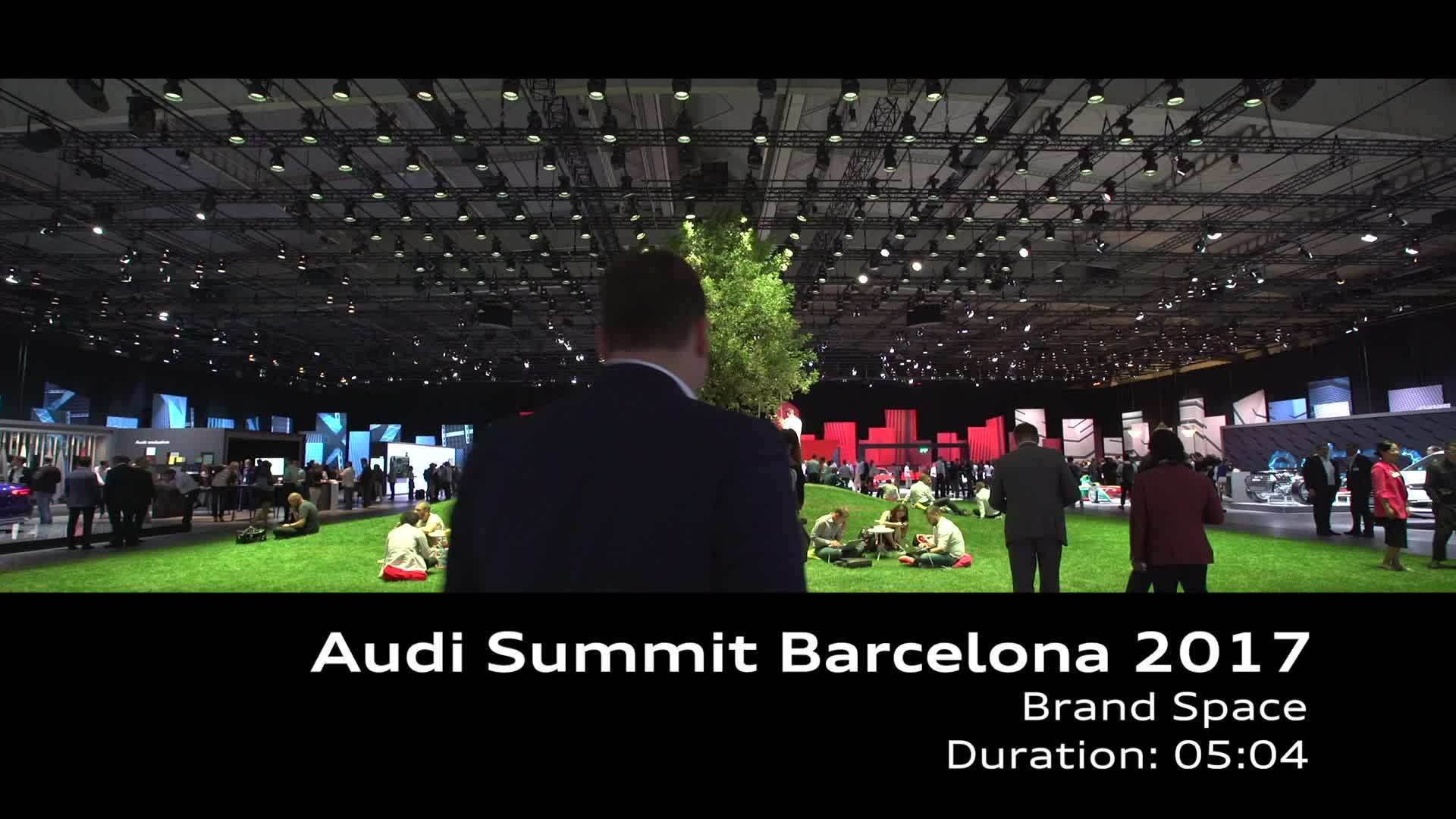 Audi Summit Footage Brand Space