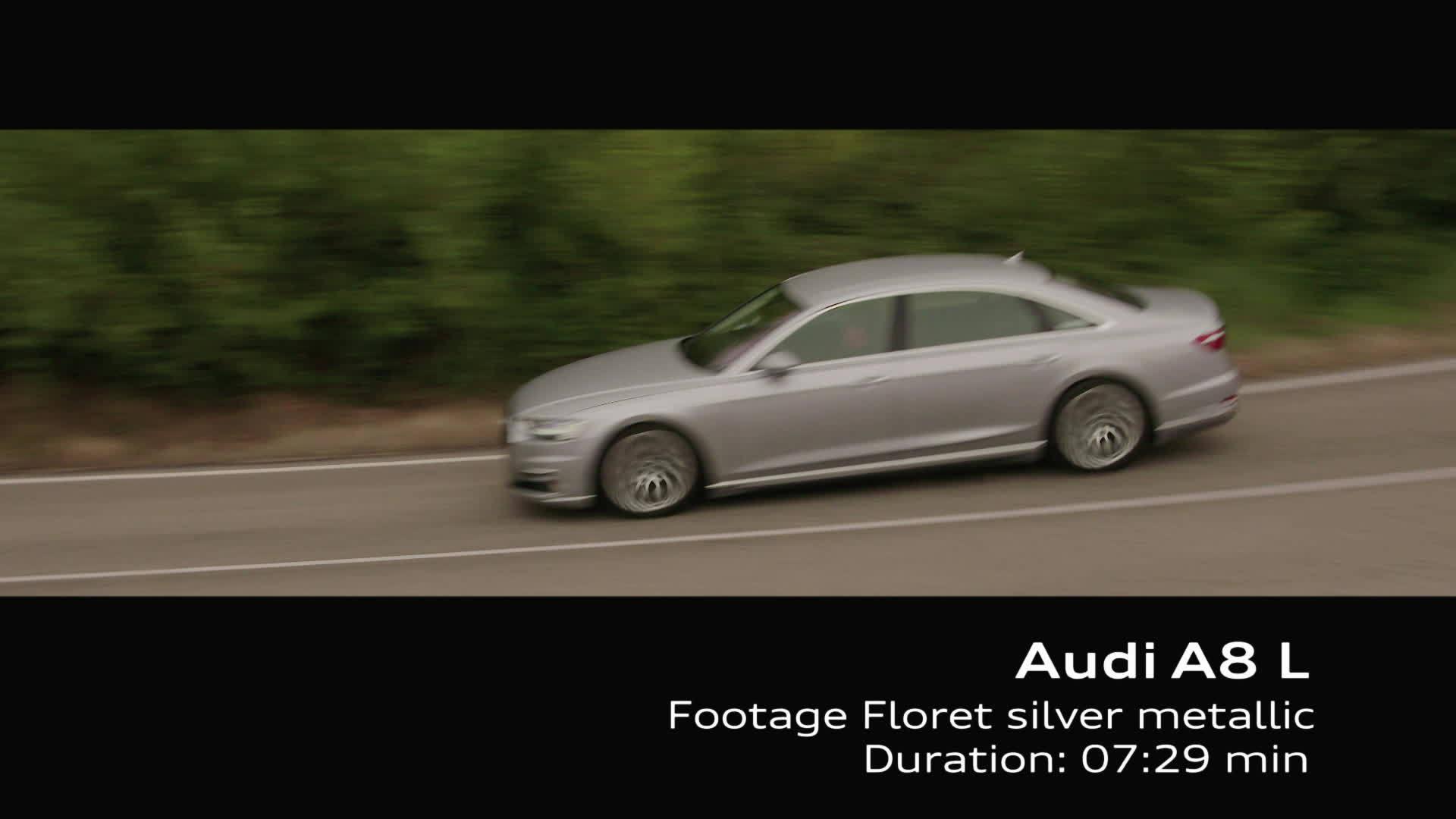 Footage Audi A8 L on Location