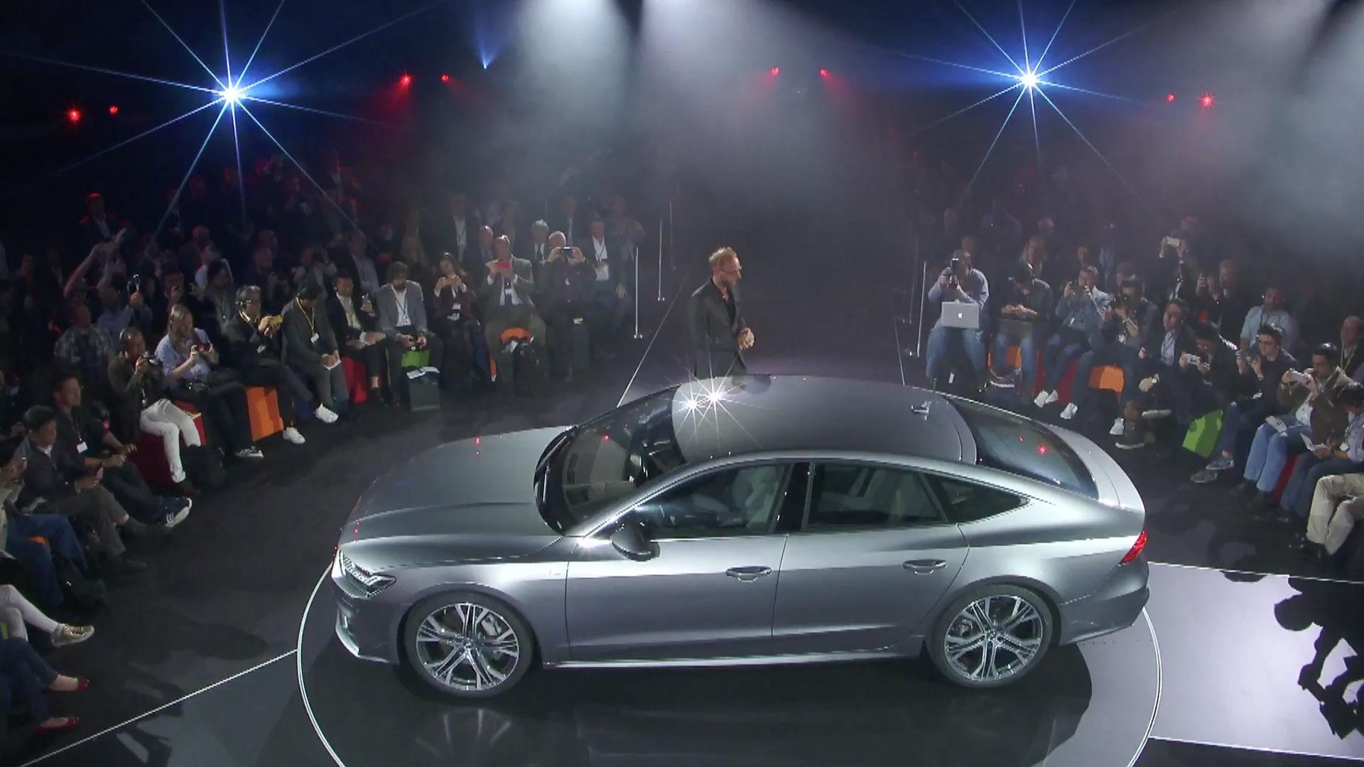 Weltpremiere des Audi A7 Sportback