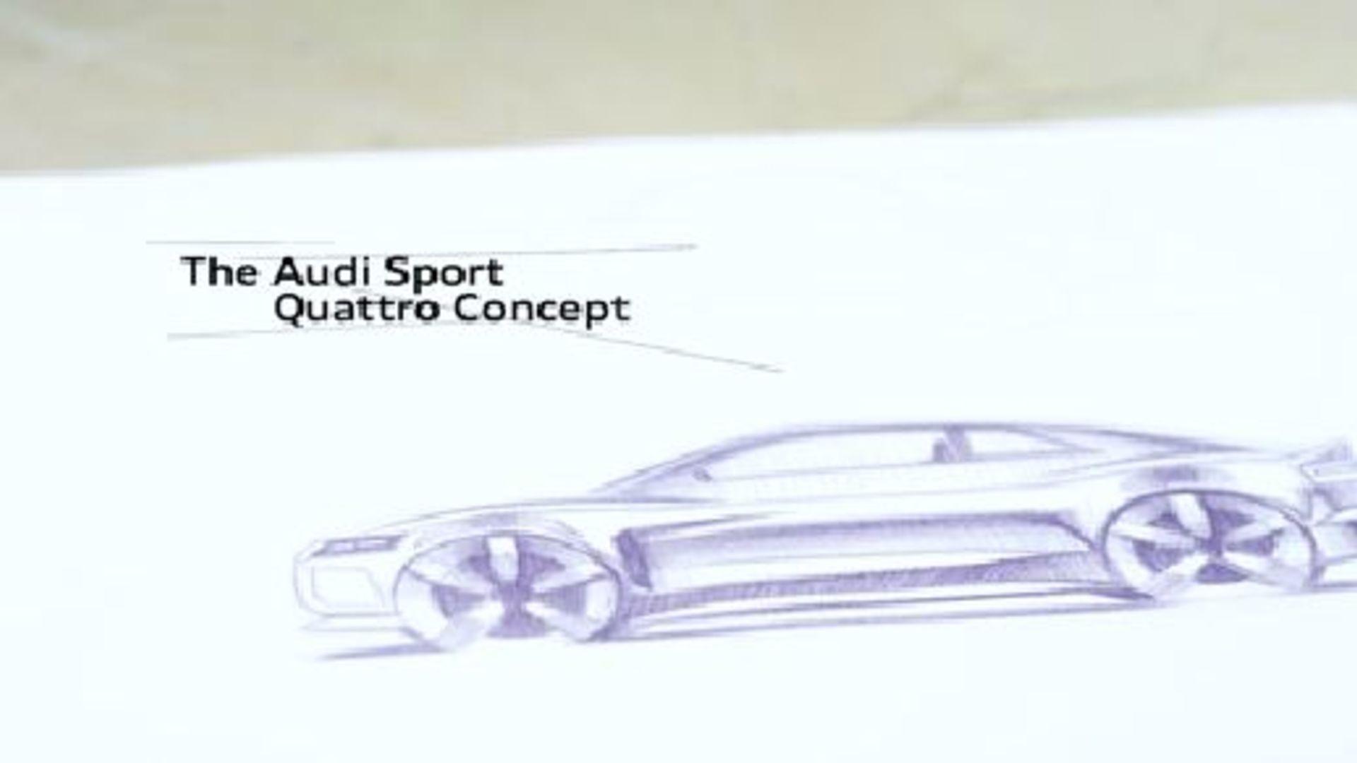 The Progress of Design - Audi sport quattro concept