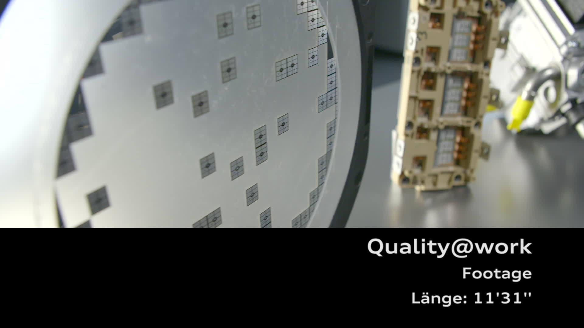 Footage Qualitätssicherung