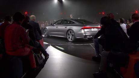 Highlights of the Audi A7 Sportback world premiere