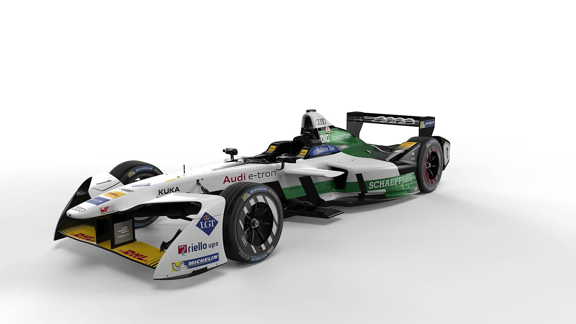 The new generation of the Formula E championship-winning car