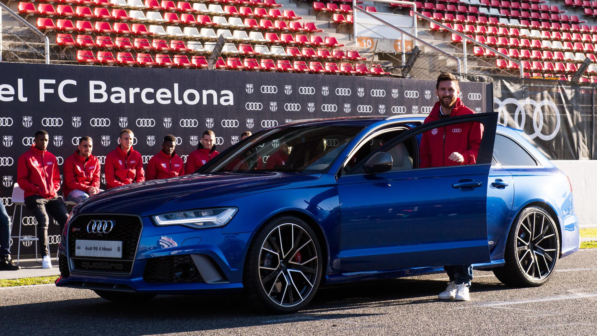 FC Barcelona Audi Car Handover 2017 Footage