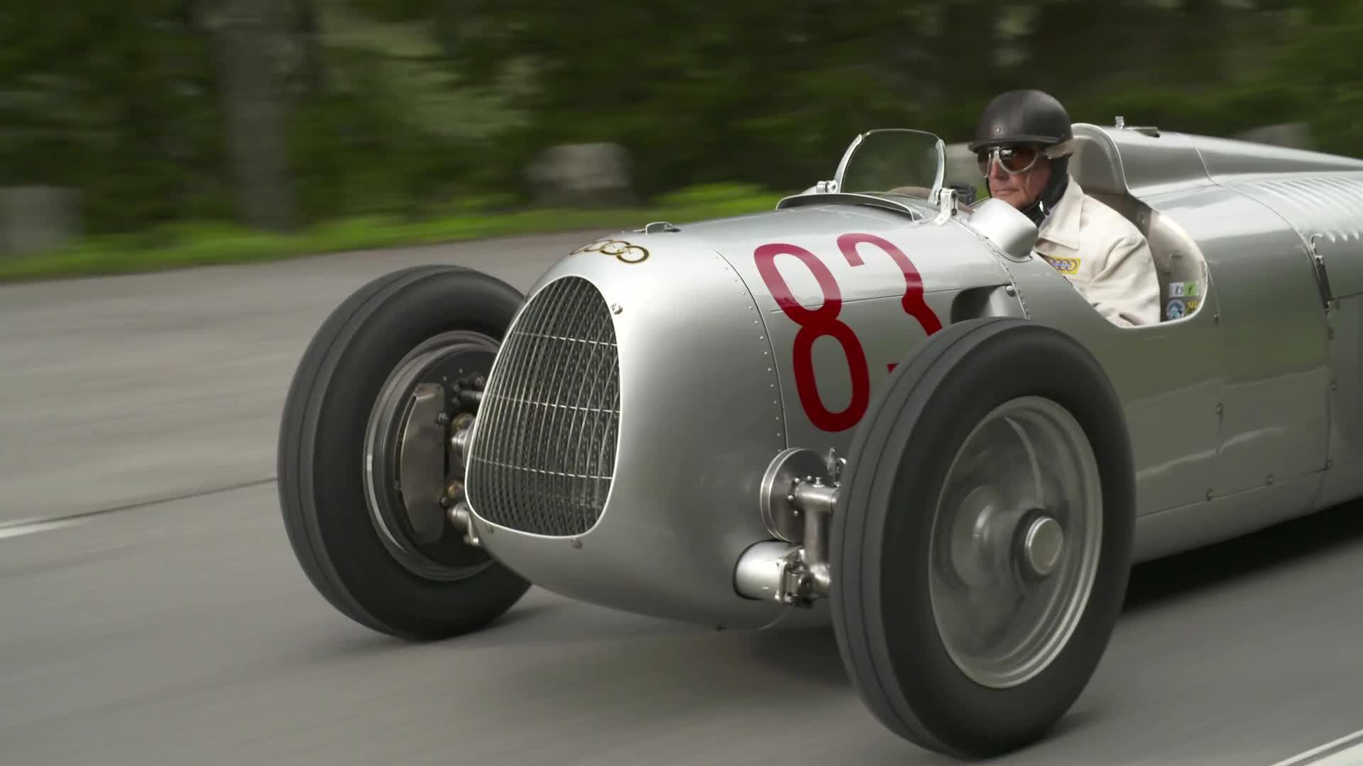 Großglockner Grand Prix 2017 mit Auto Union Typ C