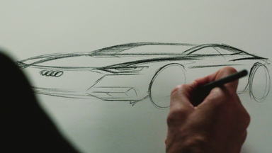 Das Design des neuen Audi A7