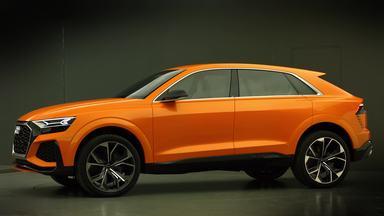 The new Audi Q8 sport concept