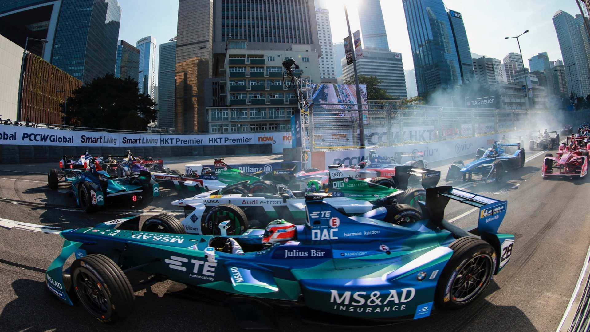 Formula E start of the season: Race 1 in Hong Kong