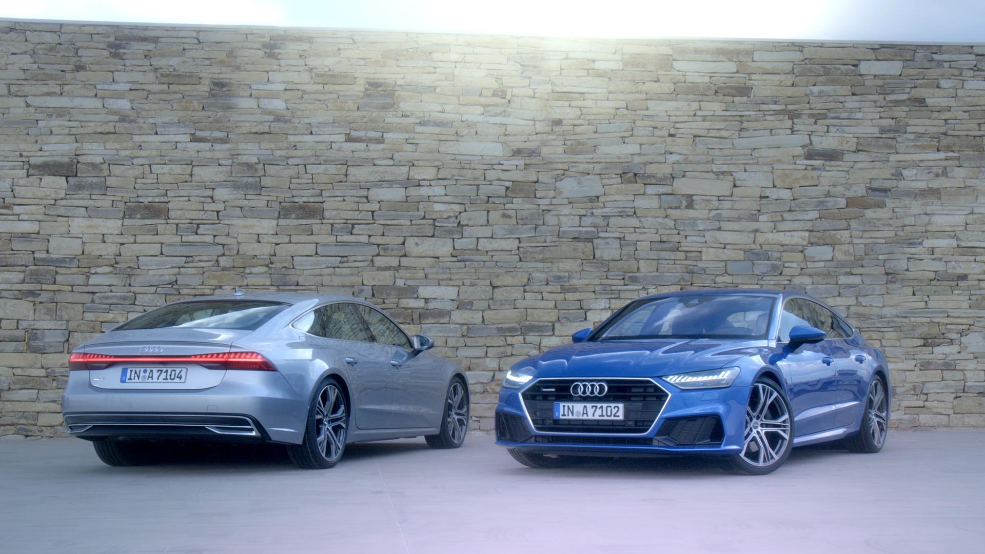 Der neue Audi A7 Sportback