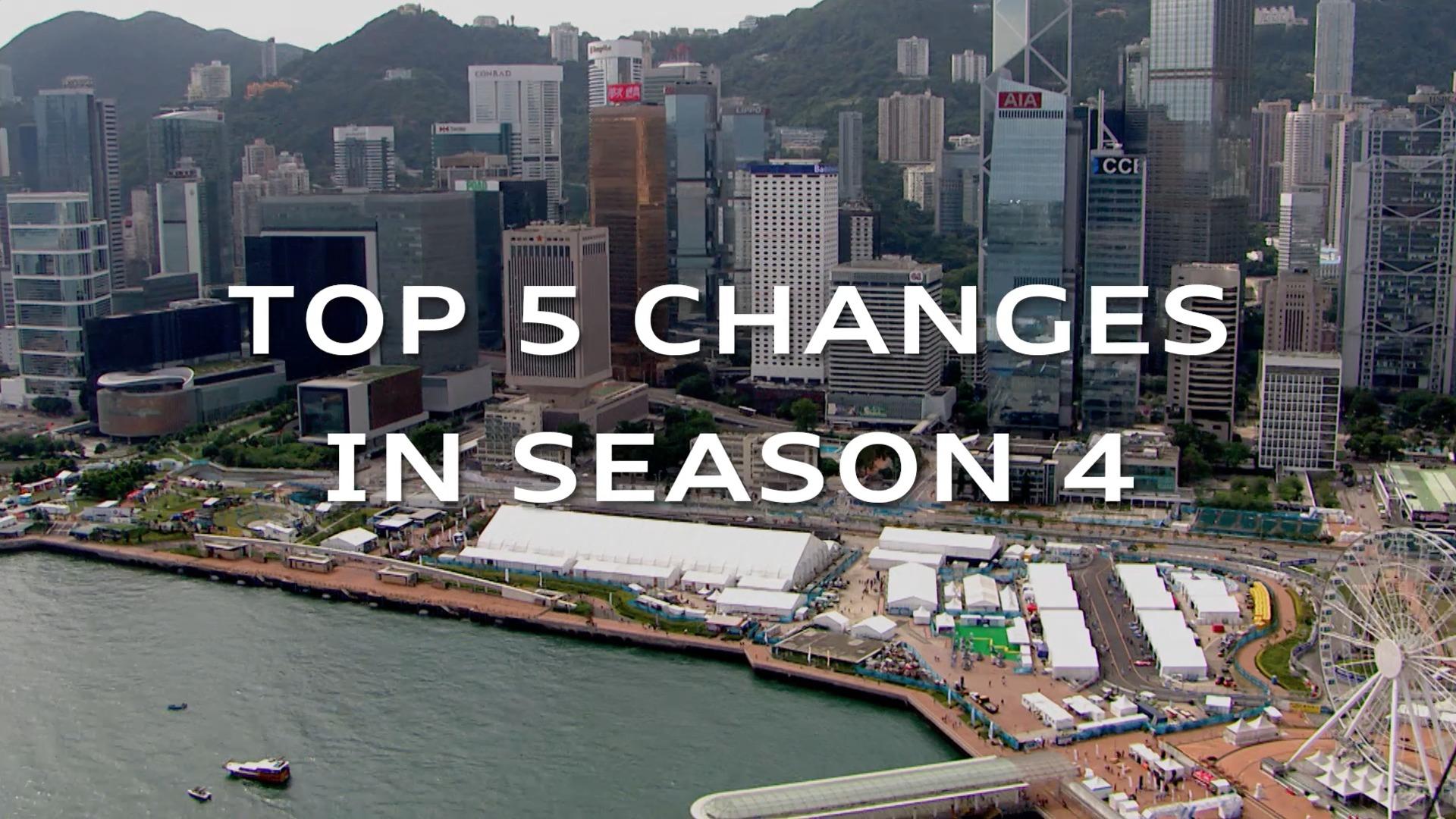 Formel E: Die Top 5 Veränderungen