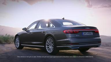 Exclusive presentation of the new Audi A8