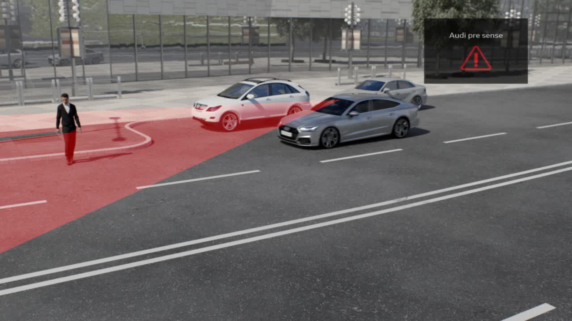 Audi A7 Animation Audi pre sense 360˚