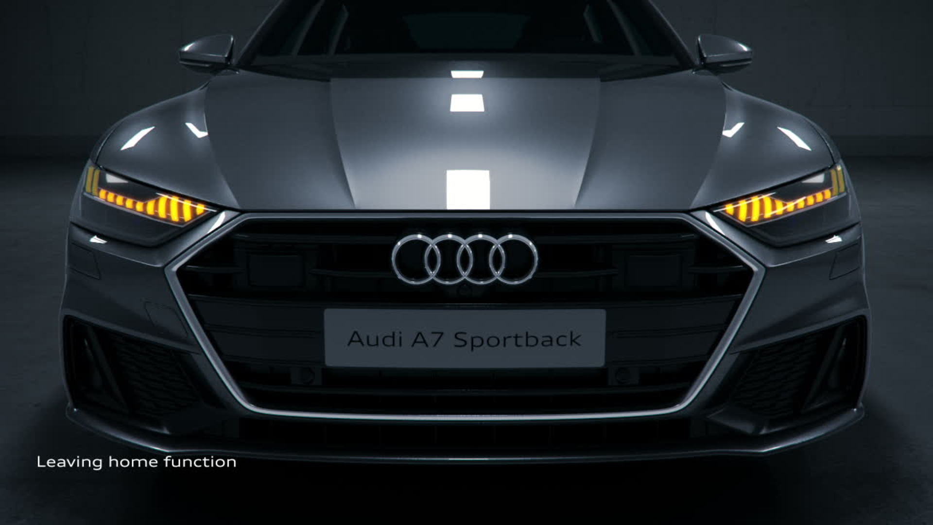 Audi A7 Animation light functions | Video | Audi MediaTV