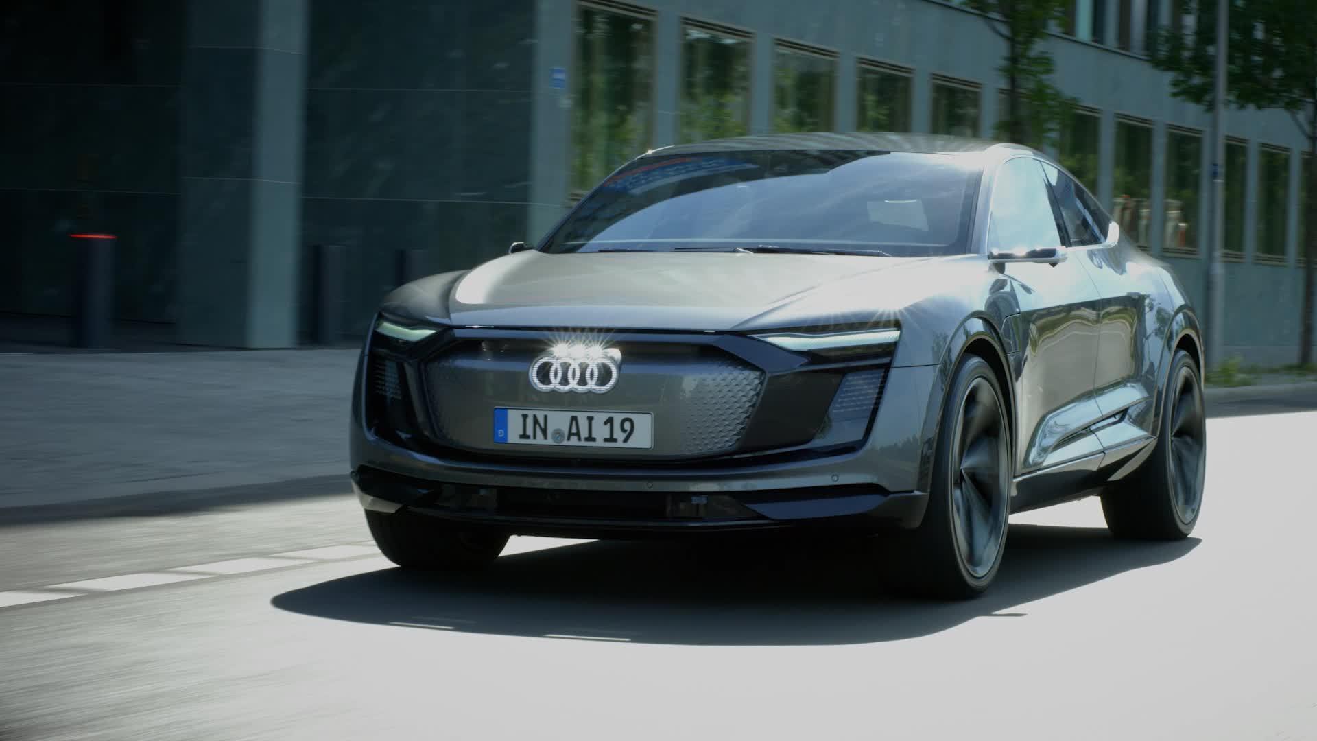 Concept Car Audi Elaine – vollautomatisiert auf Level 4