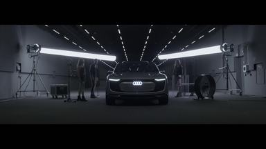 Audi e-tron Sportback concept - The design study from the Auto Shanghai