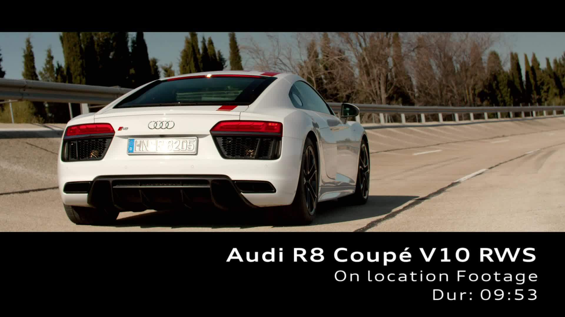 Footage Audi R8 Coupé V10 RWS