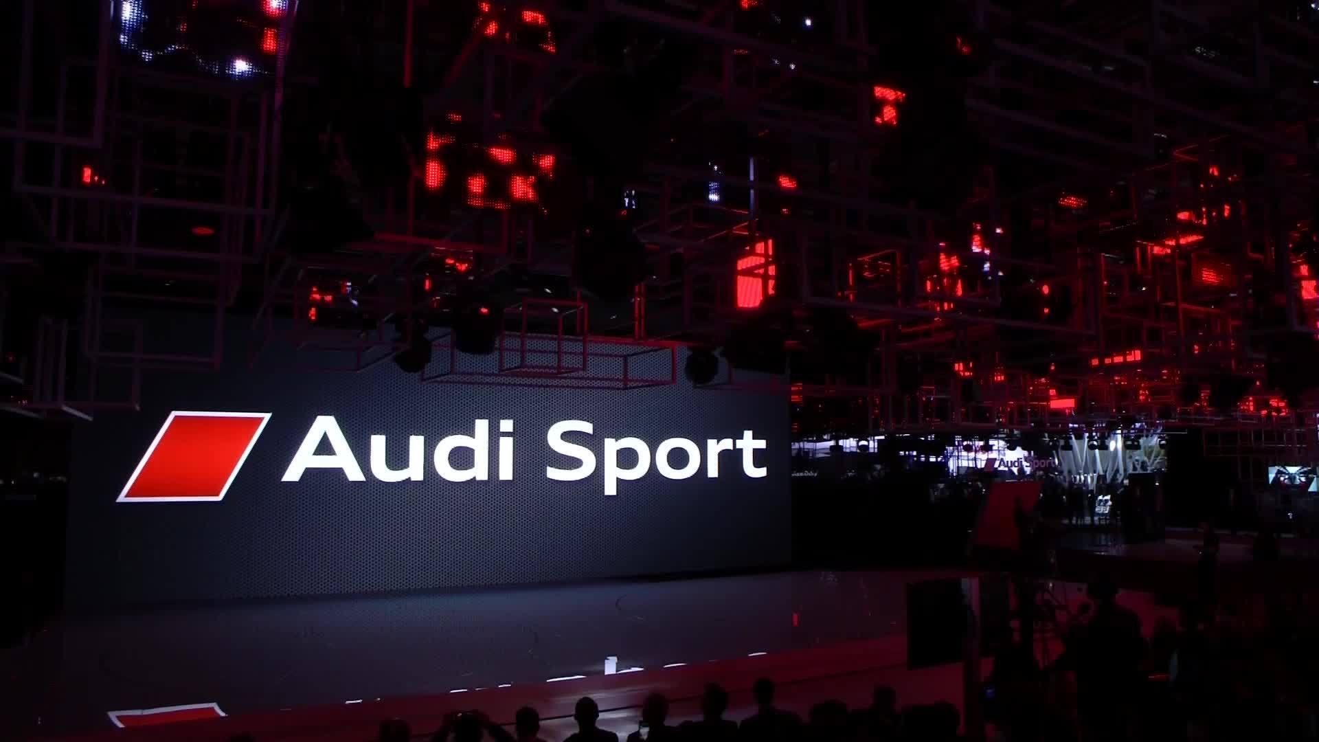 Audi Sport auf dem Autosalon Paris - Die Pressekonferenz