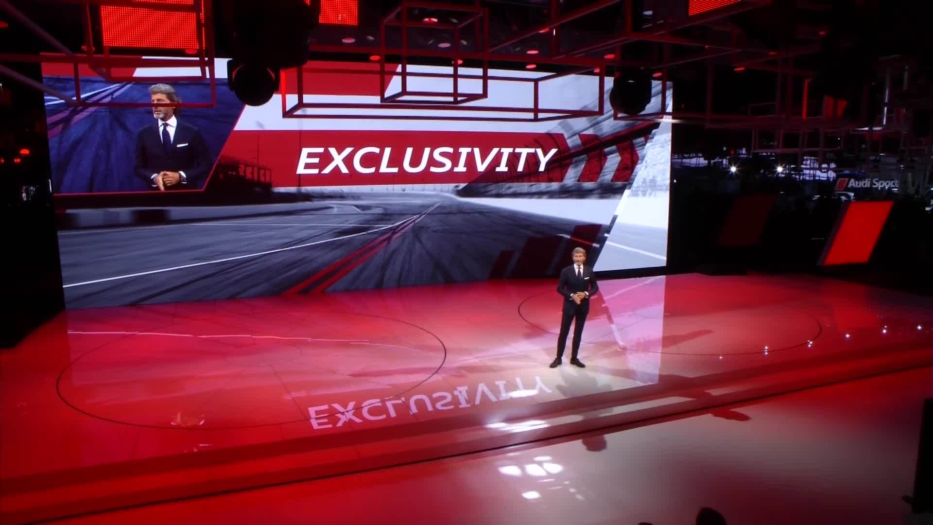 Audi Sport at the Paris Motor Show - The press conference