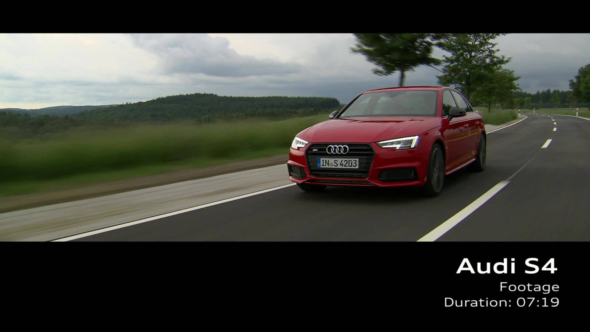 Audi S4 Limousine - Footage on Location