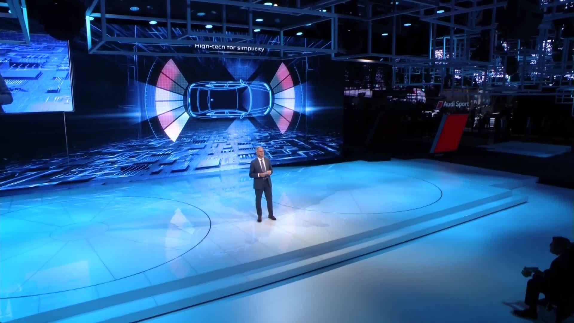 Die Audi-Pressekonferenz aus Paris