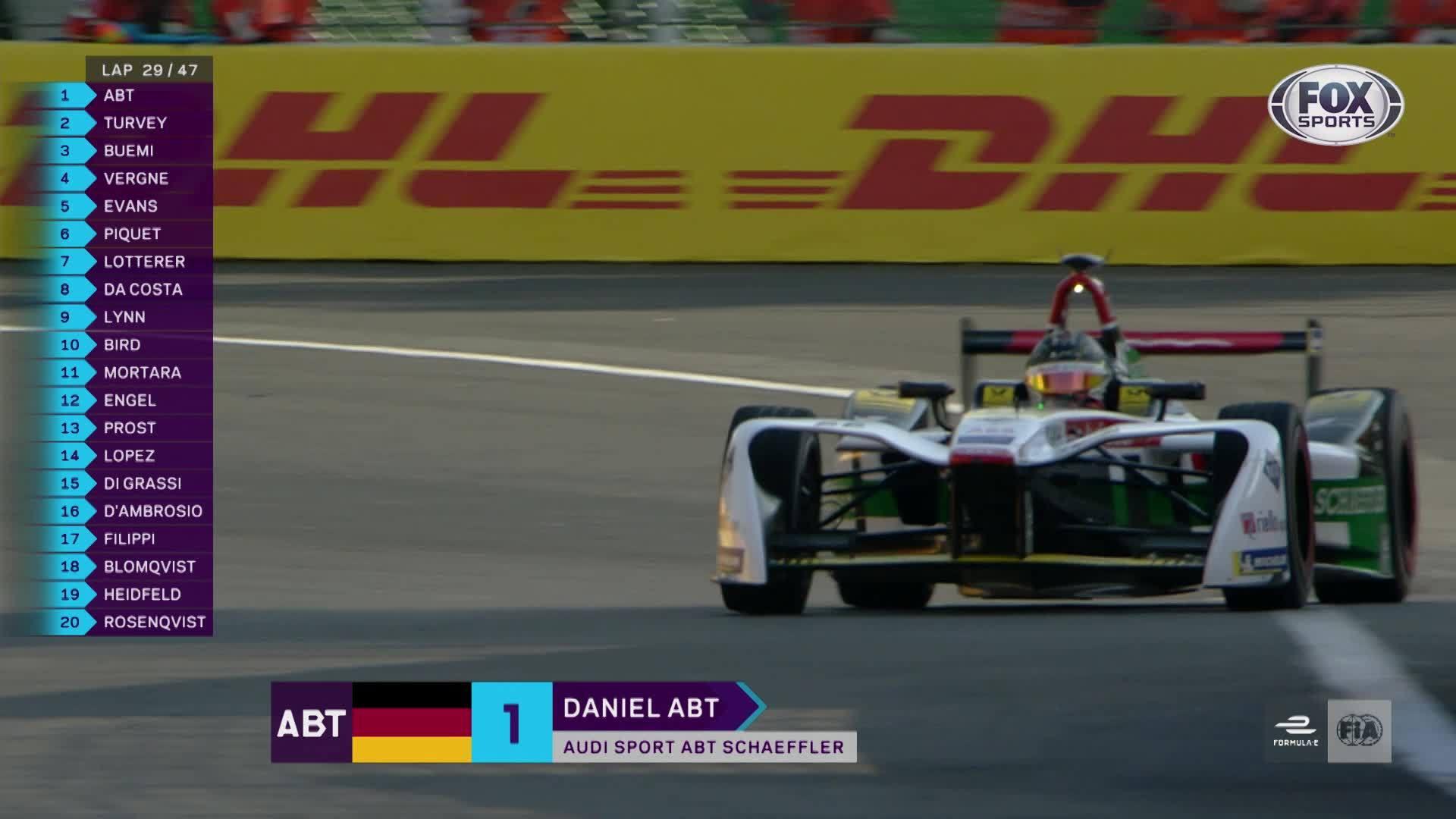 Daniel Abt holt ersten Formel-E-Sieg für Audi