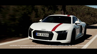 Break out: the Audi R8 V10 RWS in Madrid