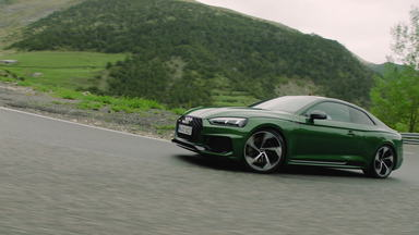 Two character types meet: Loïc Duval and the new Audi RS 5 Coupé