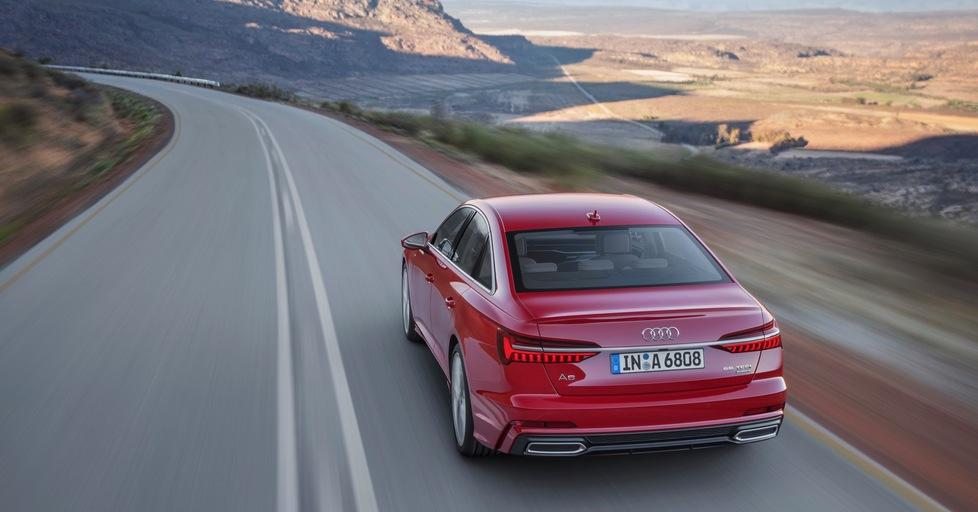 Die neue Audi A6 Limousine