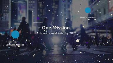 Die Mission: 100% autonomes Fahren