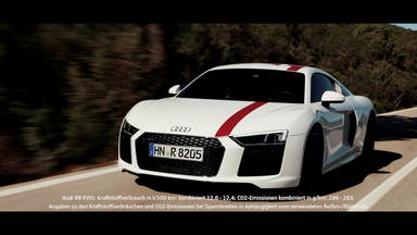 Break out: der Audi R8 V10 RWS in Madrid