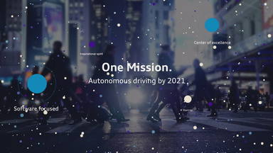 One mission: 100% autonomous driving