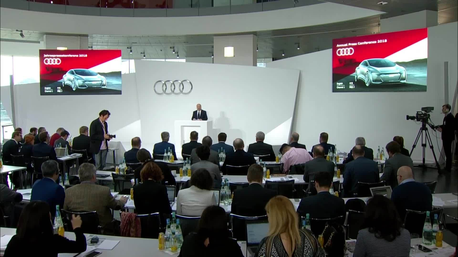 Audi Annual Press Conference 2018