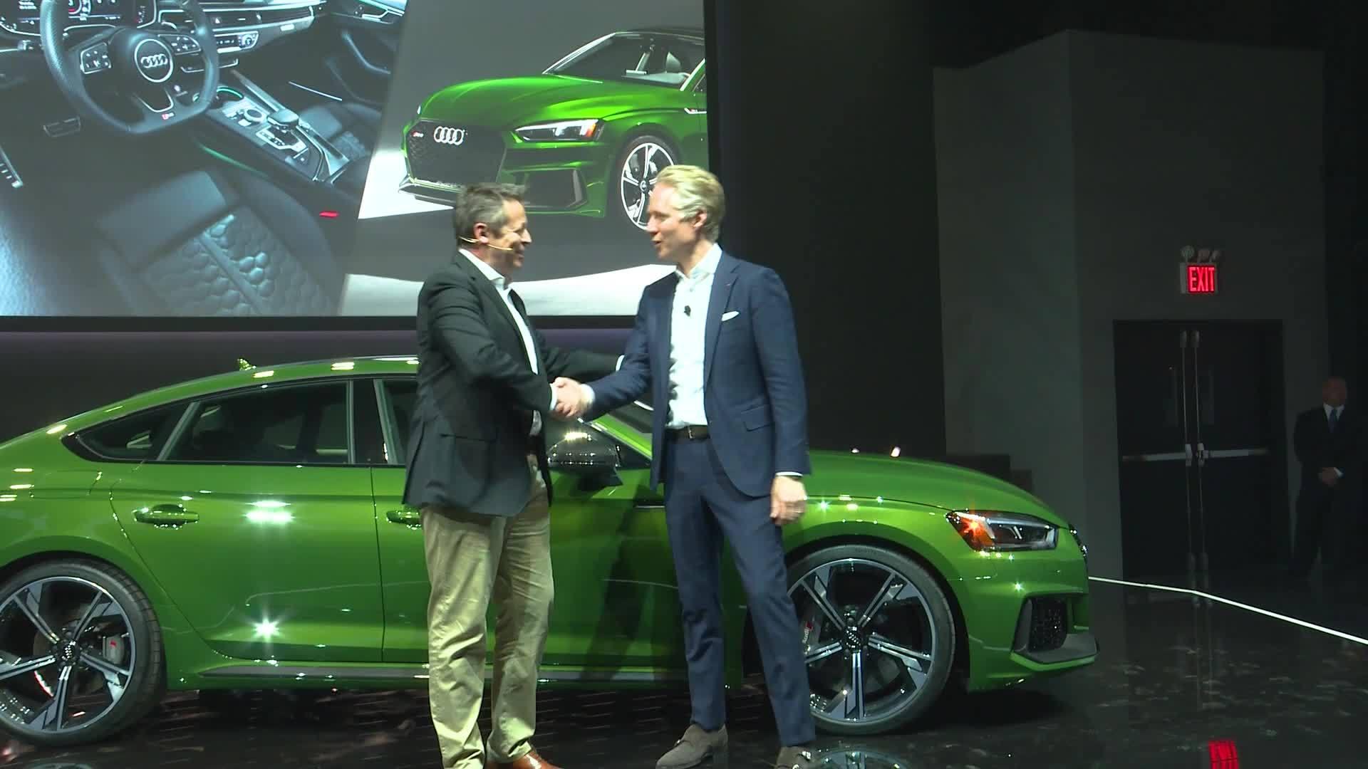 Audi Pressekonferenz NYAS 2018