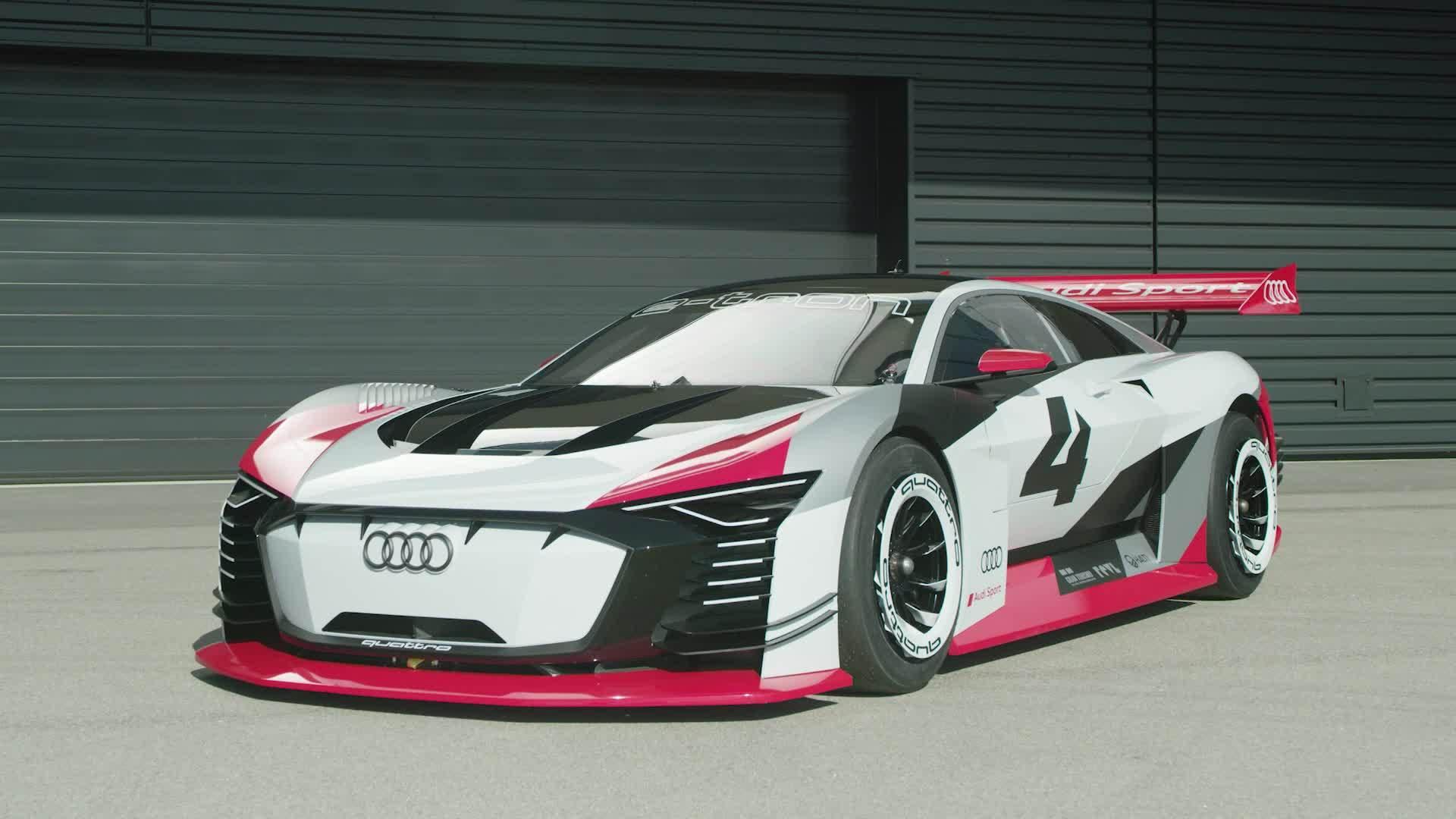 Footage Audi e-tron Vision Gran Turismo