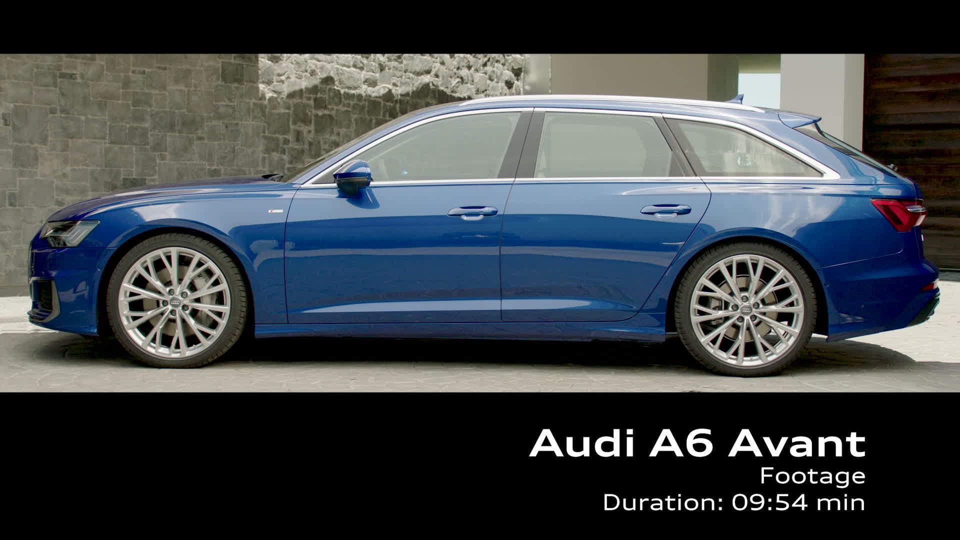 Audi A6 Avant Footage