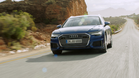 The new Audi A6 Avant