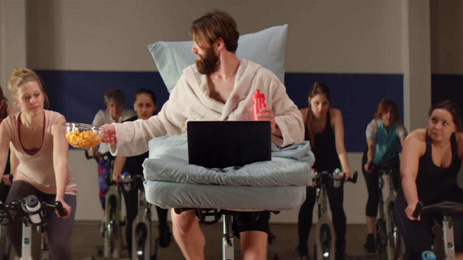 Audi A6 Filmwettbewerb: Entspannte Fitness