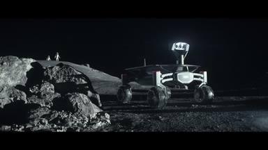 Audi Mission to the Moon. Audi Apollo.