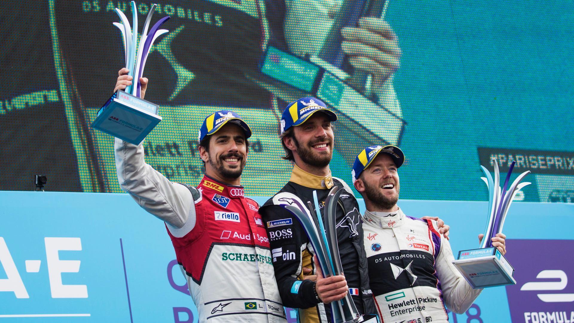 Formula E: fightbacks in Paris