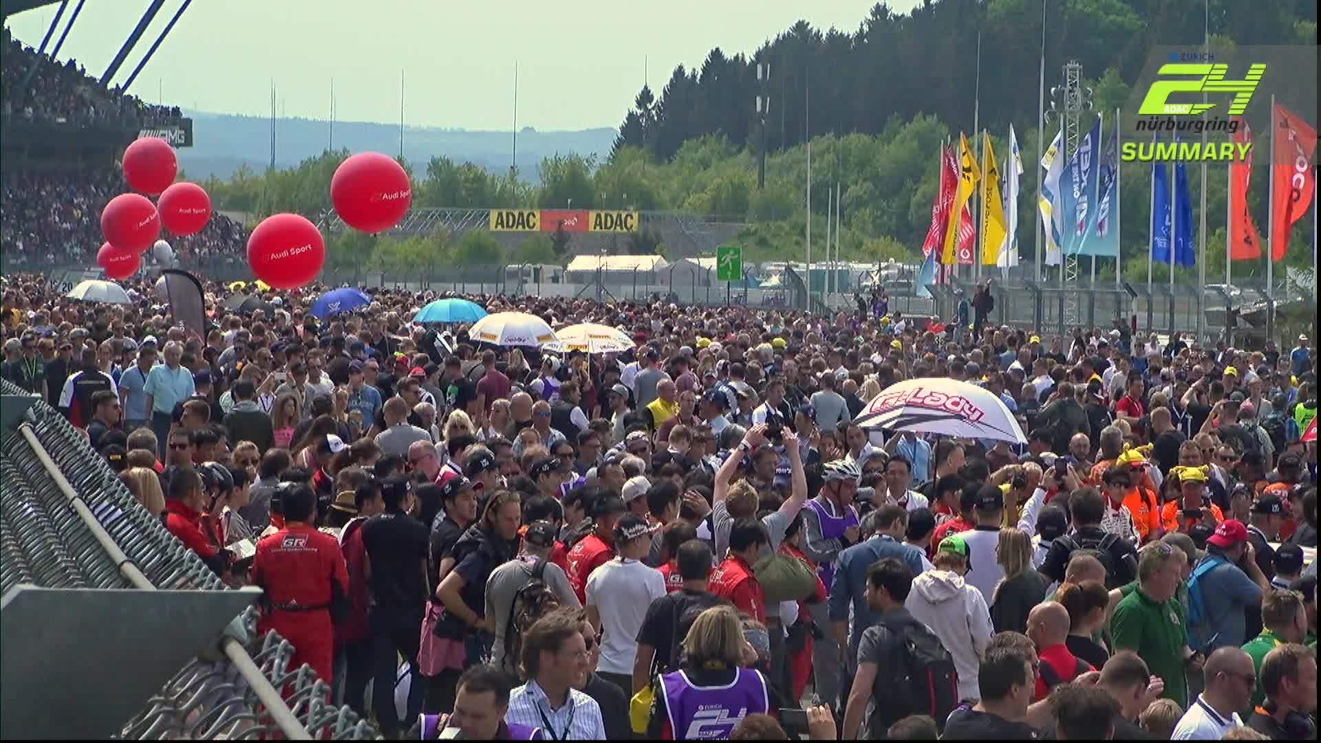 24h Nürburgring 2018 – Zwischenstand nach vier Rennstunden