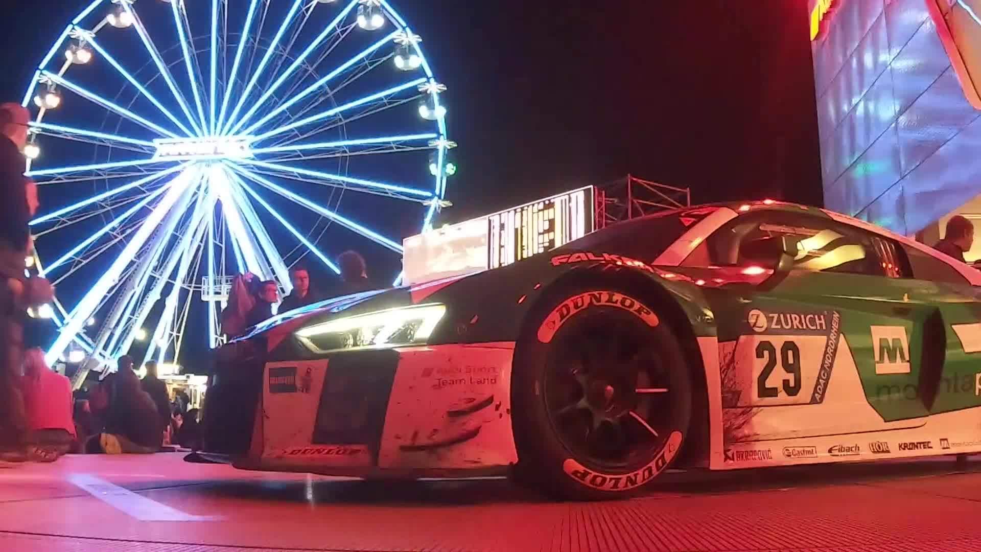 24h Nürburgring 2018 – Zwischenstand nach zwölf Rennstunden