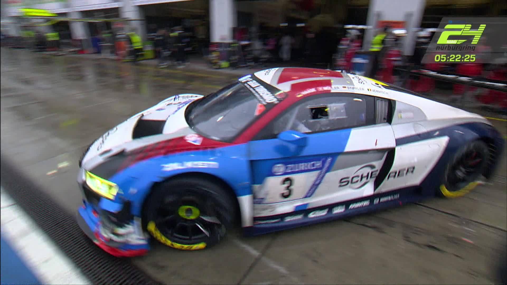 24h Nürburgring 2018 – Zwischenstand nach zwanzig Rennstunden