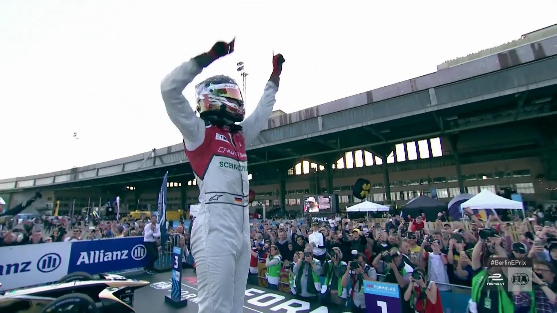 Audi elektrisiert Berlin: Doppelsieg beim Formel-E-Heimspiel