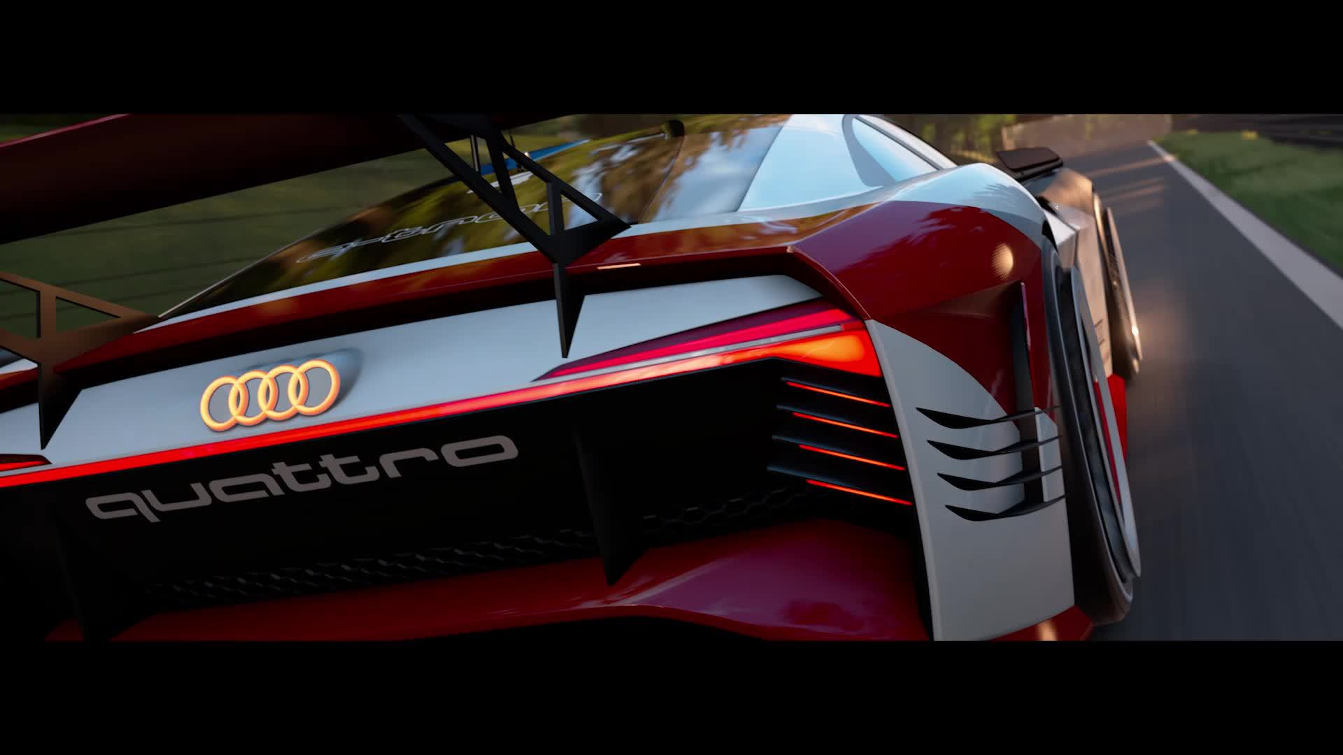 The real deal: Audi e-tron Vision Gran Turismo