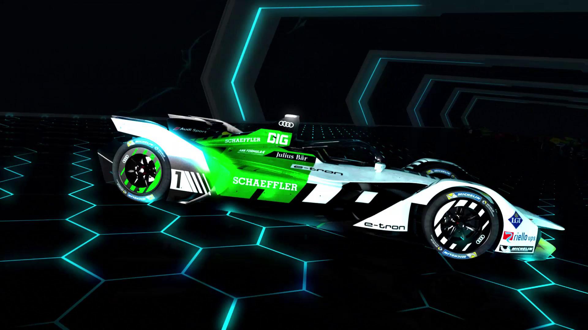 Formel E: Audi e-tron FE05