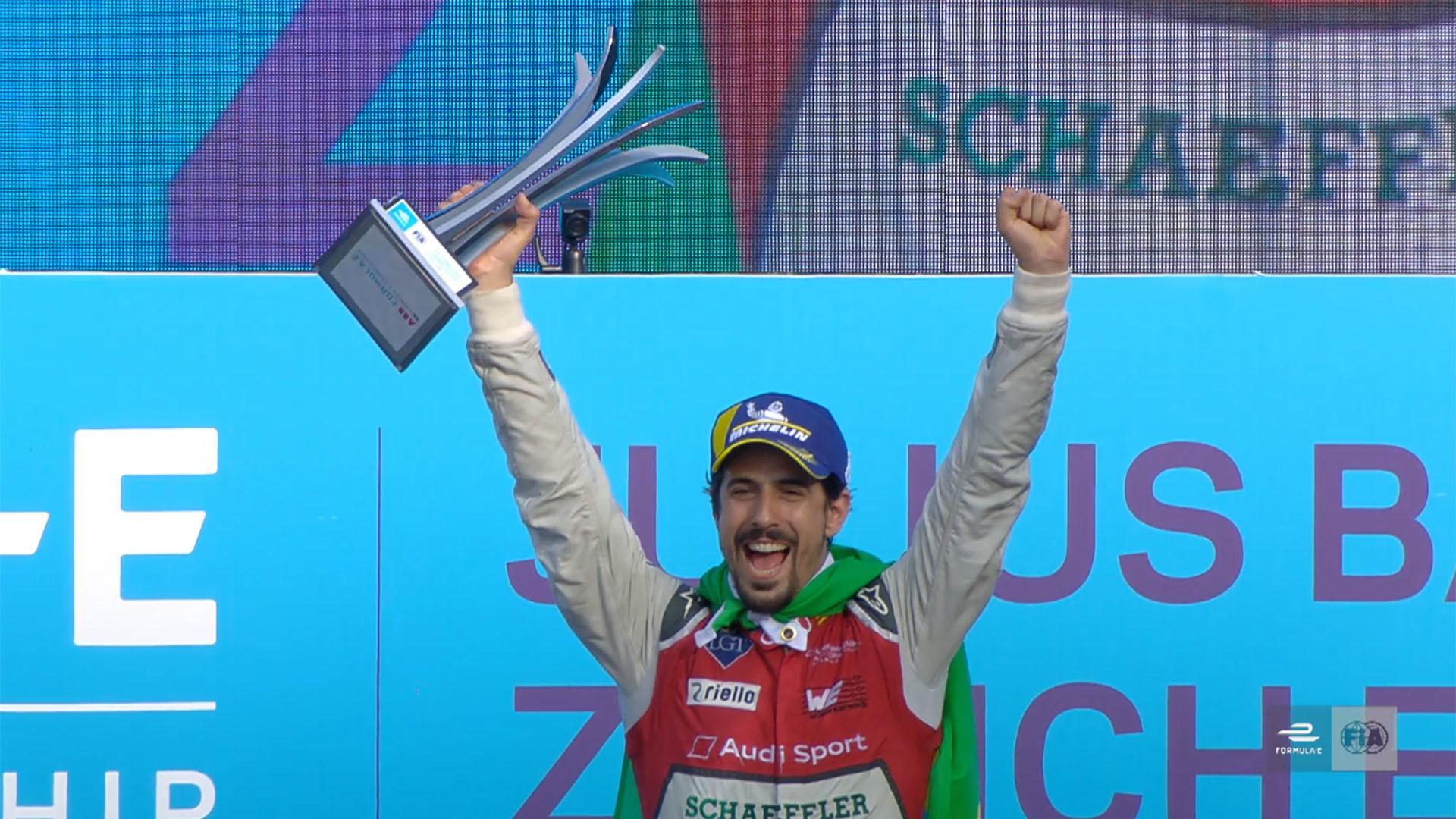 Formel E: Historischer Sieg für Audi vor Rekordkulisse in Zürich