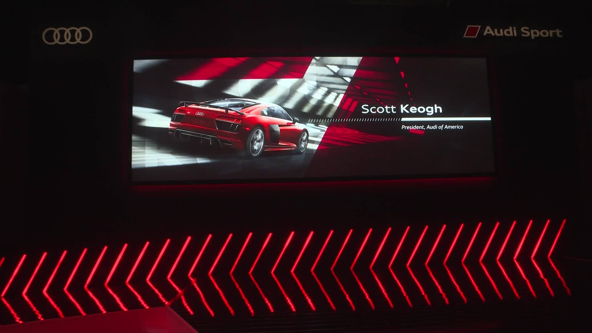 Audi Press conference NYIAS 2018