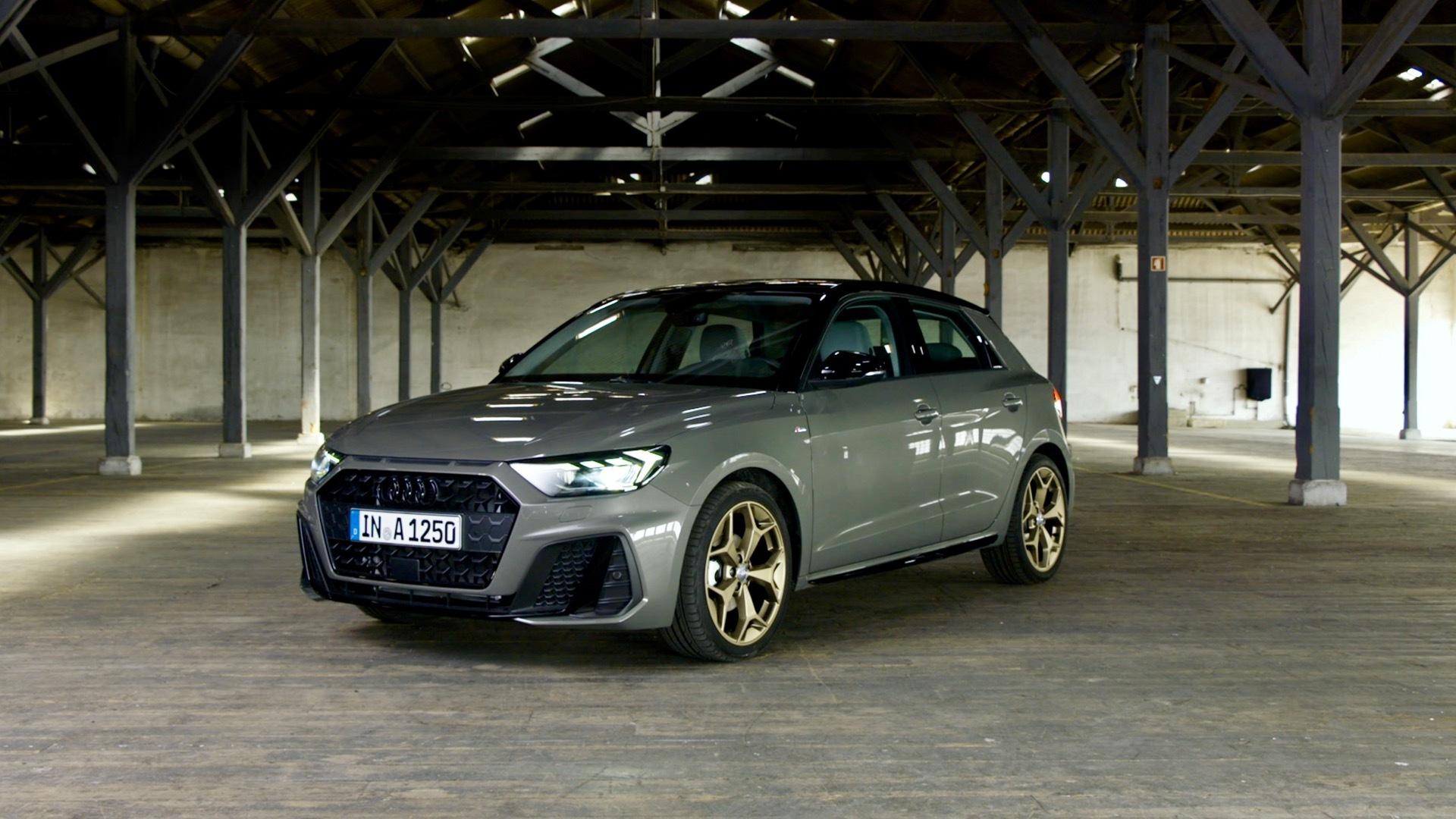 The new Audi A1 Sportback