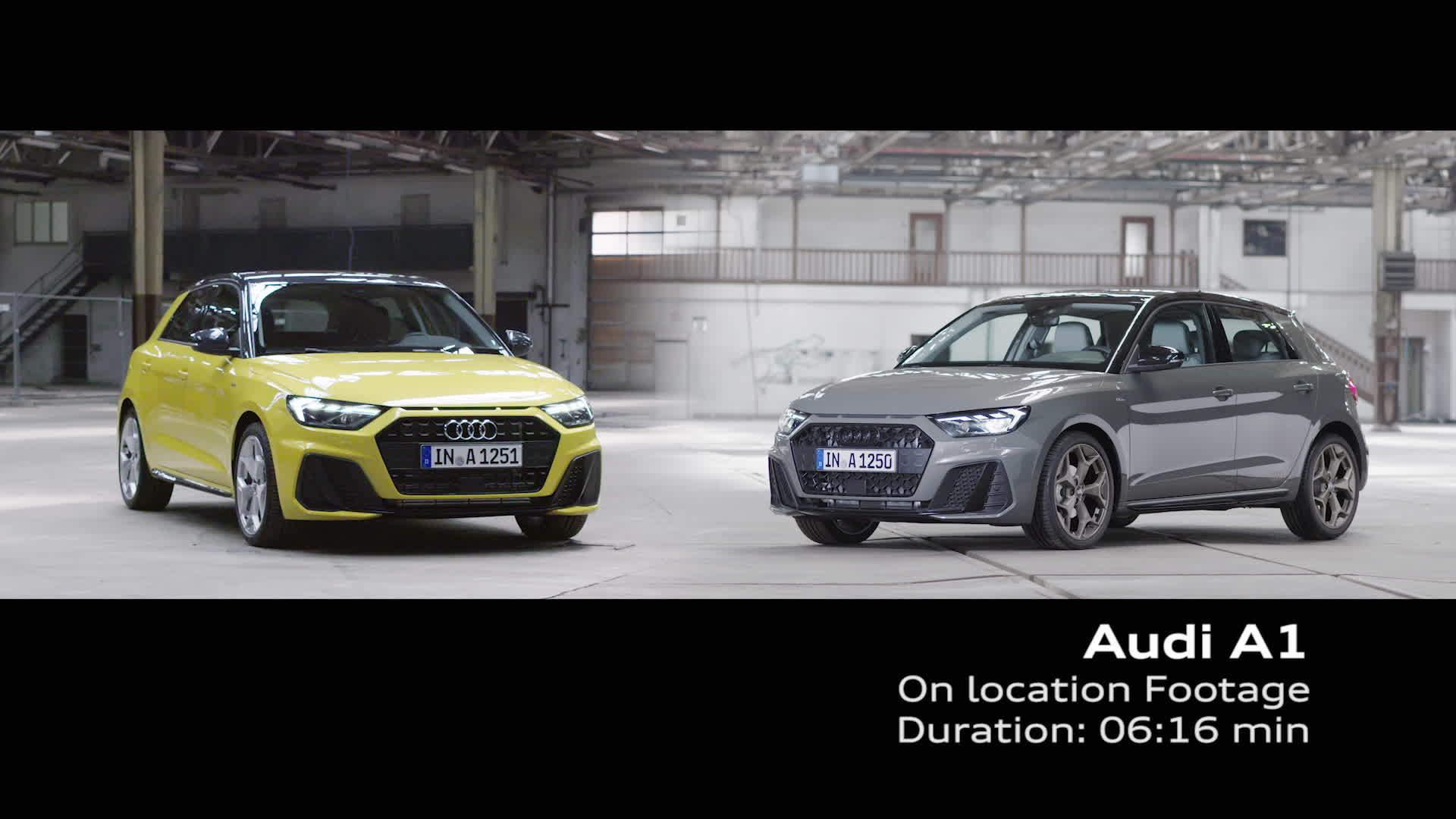 Audi A1 Sportback - On location Footage